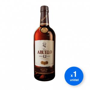 Botella de Ron Abuelo Añejo 12 años 750 cc ¡El mejor precio! de Santa Rita