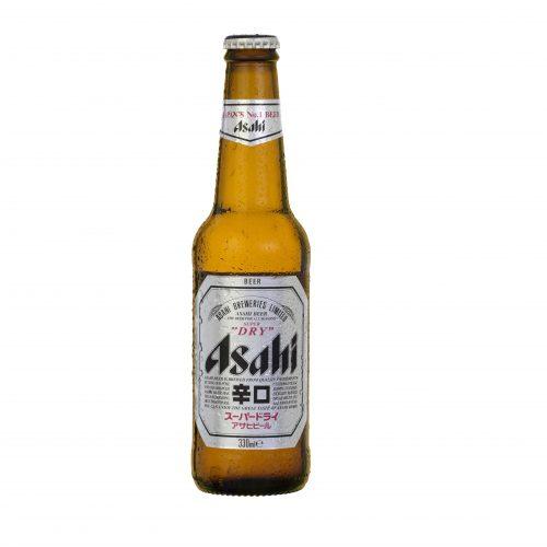 Venta de Cerveza en Botella Chica 🍻 Asahi Dry Lager 330 cc x 24 de Santa Rita