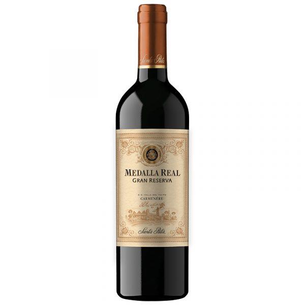 Vino chileno Carmenere Gran Reserva 750 cc x 12 de Santa Rita