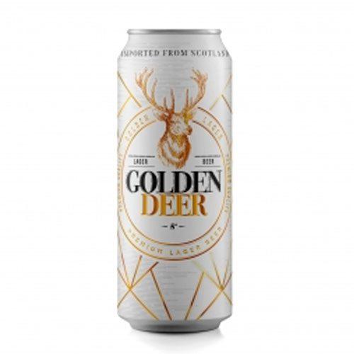 Compra Cerveza 🍻 en Lata Golden Deer Lager en ¡Oferta! 500 cc x 24 de Santa Rita