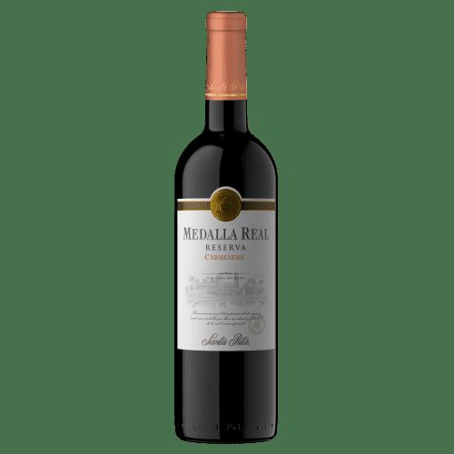 Vino chileno Carmenere Santa Rita Medalla Real Reserva 750 cc x 12 de Santa Rita