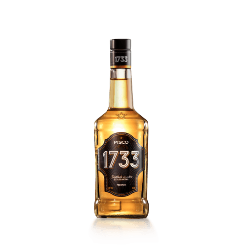Botella de Pisco a buen precio 1733 Especial 35° 1000 cc de Santa Rita