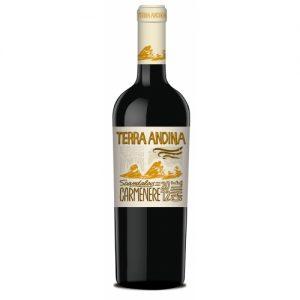 Vino chileno Carmenere Terra Andina Free 750 cc x 12 de Santa Rita