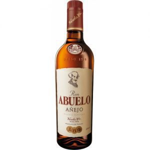 Botella Ron Abuelo Añejo 1000 cc al mejor Precio de Santa Rita