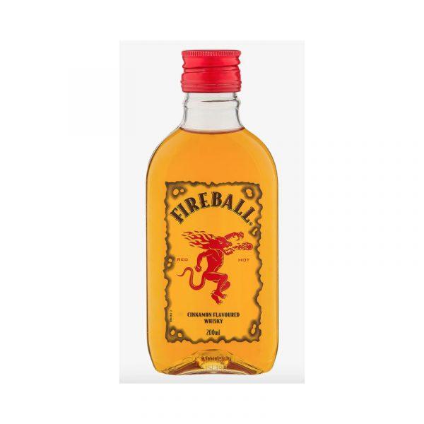 Botella de Whisky a bajo costo Fireball Cinnamon 200 cc de Santa Rita