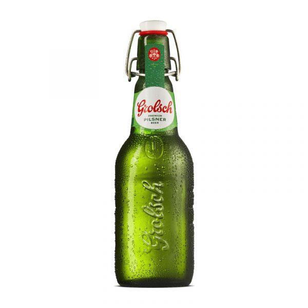 🍻 Cerveza Grolsch en Botella 450 cc x 24 ¡Mejor Precio en Chile!